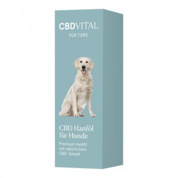 CBD Vital CBD Hanföl für Hunde, 10ml