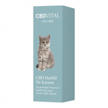 CBD Vital CBD Hanföl für Katzen, 10ml