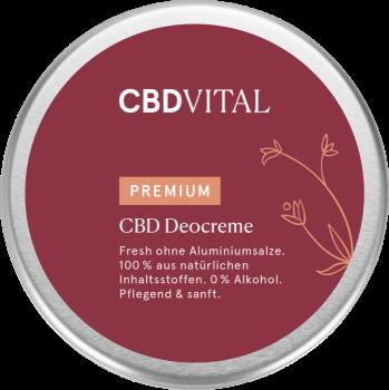 CBD Vital - CBD Deocreme - 100ml - CBD Bio Naturkosmetik