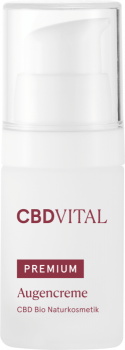 CBD Vital - Augencreme - 15ml - CBD Bio Naturkosmetik