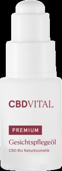 CBD Vital - Gesichtspflegeöl - 20ml - CBD Bio Naturkosmetik