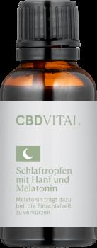CBD Vital Schlaftropfen mit Melatonin, 30ml